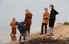 Medieval_festivals_5 (Liga_Eglite) Tags: boy summer people festival river children costume spin traditions medieval latvia waters vikings ages riga livinghistory ligaeglite