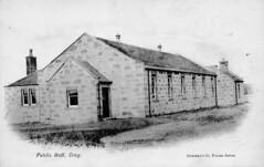 Croy Public Hall, North Lanarkshire. (Paris-Roubaix) Tags: vintage scotland antique north scottish postcards cumbernauld kilsyth lanarkshire croy twechar