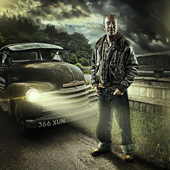 Yann and the Chevy (Mark Frost :)) Tags: light portrait music art chevrolet beauty rock composite dave digital photoshop truck portraits canon promo dish image quality joel bees alien hill einstein group manipulation calvin vision chevy fantasy portraiture hollywood rockabilly theme themed alienbee imagemanipulation davehill compositing themes kicker grimes alienbees beautydish joelgrimes octobox 5dmkii 5dmark2 thedavehilllook calvinhollywood