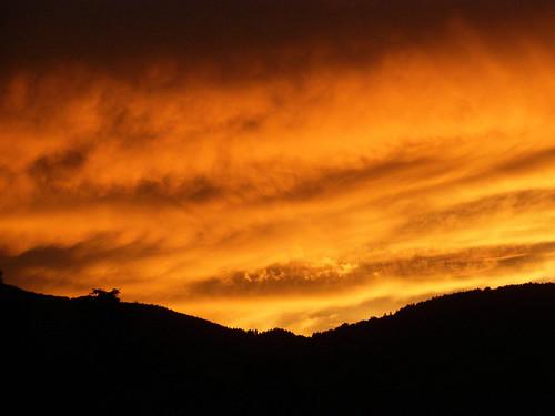 Photo - Firey Sky