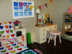 The Girls New Bedroom - Blythe Room Box