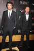Aidan Turner and Dean O'Gorman, Premiere of 'The Hobbit: Unexpected Journey' New York City