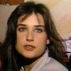 Demi Moore before she became famous Supplied by WENN