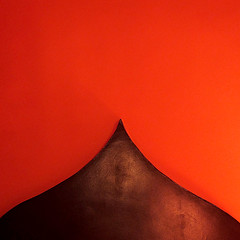 Fes - abstract (Sallyrango) Tags: africa red orange abstract square northafrica curves north minimal morocco maroc shape fes