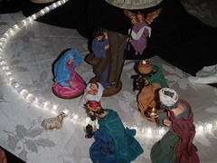 Nativity-Scene-Series (172) (Mr. Happy Face - Peace :)) Tags: christmas family pink blue red woman baby canada men art history love church glass animal animals composition joseph hope artwork colorful ceramics artist peace message christ display faith mary jesus joy creative belief craft happiness explore international displays slideshow joyful craftsman festivities figures scenes sculptures carvings worldpeace glasswork wisemen nativityscene seasongreetings firstborn jimmyb bibical mrhappyface artificalzoo christmas2012 biggestnativityscenedisplay