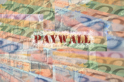 Paywall by GioSaccone, on Flickr