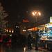 Natale neve albero castagne piazza duomo milano