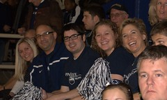 Cheering on the team (Penn State World Campus) Tags: pennstateworldcampus pennstatebasketball