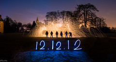 12.12.12 (Bryan Burke) Tags: lightpainting night scotland fife nightime sparks dunfermline pittencrieffpark 121212 bryanburke bfburke
