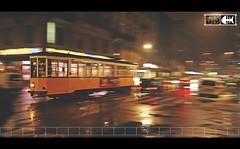 MILAN [ fabio funky ] (Fabio Funky 1989's) Tags: street milan nikon strada milano tram funky fabio panning d5000 fabiofunky