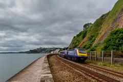 Teignmouth (Marklucylockett) Tags: devon 2016 marklucylockett july teignmouth abbie evie uk hs125 greatwesternrailway first trains