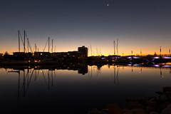 king st bridge (alexgrogan1) Tags: glenelg sunset southaustralia marine yachts marina