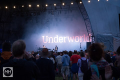 Underworld at Bluedot, Jodrell Bank Discovery Centre (tw332) Tags: bluedot bluedotfestival concert festival jodrellbank jodrellbankdiscoverycentre karlhyde lights ricksmith stagelights underworld