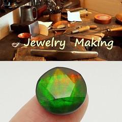 COMING SOON (The Ammolite) Tags: アンモライ fossil minerals stone gemstone ammolite ammonite jewelry jewellery star david