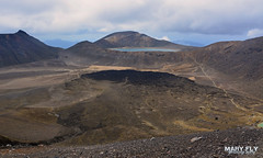 Moonscape of Tongariro Alpine Crossing, New Zealand (mary fly) Tags: tongariro alpine crossing new zealand volcano moonscape crater