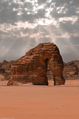 Mount Elephant (mosa3ad alshetwi) Tags: mount elephant alaula roks sky sun sunlight travel trep desart sand                   nature natural