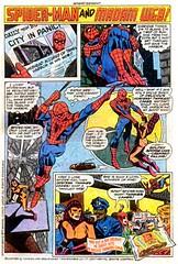 1977 Spider-Man and Madam Web for Hostess Twinkies (Tom Simpson) Tags: spiderman madamweb comics comicbooks ad ads advertising advertisement twinkies hostess cake cream creamy vintage vintagead 1977 1970s