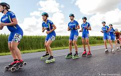 2016-07-30 EK Skeeleren Steenwijk (61a) (Peter Donderwinkel) Tags: ekskeeleren2016steenwijk inlineskating seniorladies junioraladies ek klimvansteenwijk schaatsennl kpn skeeleren outdoor sport event speed race canon