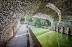 The Cut to the Thames August 2016 (42 of 42) (johnlinford) Tags: bridge canal canon canonefs1022 canoneos7d docklands hdr london thecut tunnel uk urban landscape
