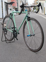 IMG_9856 (EastRiverCycles) Tags: eastrivercycles  vivalo  kusaka  road   handmadebicycle reproductsproject kaisei019 2016   bicycle  tokyo  chrisking