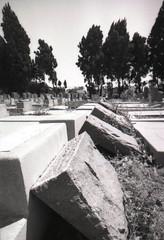 Exa 1C Mount Zion Cemetery 3 () Tags: vintage retro classic losangeles la california history 35mm film camera exa exakta dresden veb pentacon eastgermany ddr gdr