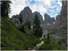 Trail (Badenfocus_Thanks for 650k views) Tags: badenfocus dolomiten dolomiti dolomites langkofel sassolungo fujifilmx20