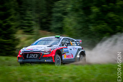 Rally Finland 2016-305 (exdragon666) Tags: rally finland 2016 neste wrc hyundai i20 paddon car cars