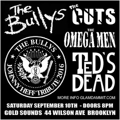 Johnny Heff 2016 Tribute At Gold Sounds (The All-Nite Images) Tags: the bullys thecuts omegamen tedsdead gladammitmusicpsychobillypunkrock n rollnew yorklivebushwickbrooklynnycotto yamamotothe all nite imagesjohnny heff