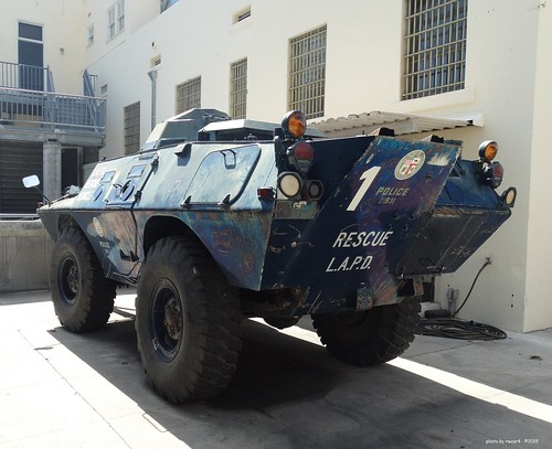 Lapd Cadillac Gage Commando V100 Armored Vehicle 7 A Photo On