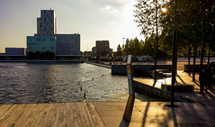 20160812_194746 (durr-architect) Tags: almere waterfront kunstlinie sanaa modern architecture evening light