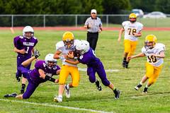Tackled (Omni-Photography) Tags: footbal football douglass ks middle school