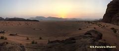 A panoramic Sun rising in the Desert of Wadi Rum, Jordan (ssspnnn) Tags: sunrise sun alvorada alborada solnascente jordania jordan wadirum desert desierto deserto snunes spnunes spereiranunes iphone apple