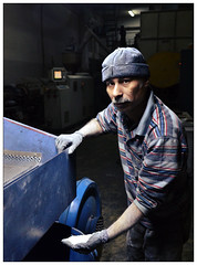 Worker at Roky Plast Factory - Lebanon (Mohamed Essa) Tags: middle east north africa sme lebanon beneficiary