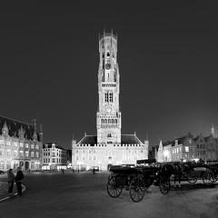 Belfry of Bruges (Ian Bramham) Tags: bruges belfry belltower belgium historical photo ianbramham