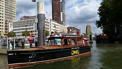 HNY-7 (Michel Curi) Tags: rotterdam netherlands holland nederland centrum dutch europe grotemarkt water boats sail vessel nautical ships naval tug barge transportation transport harbour harbor ports marina maritime maritiem maritiemmuseum anchor watertaxi hny7 hotelnewyork