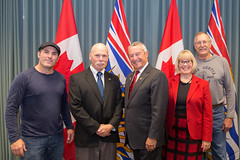Meeting with Clinton (BC Gov Photos) Tags: bcgovernment bcubcm britishcolumbia clinton ubcm2016 victoria victoriaconventioncentre community economy localgovernment municipalities services
