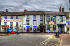 The Falcon (Yorkie Chris) Tags: falcon thefalcon pubs inns publichouses hdr hdrtoning effects outdoor outdoors bridgenorth shropshire restaurants