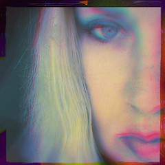 She wanted something. I just couldn't figure out what it was. (BLACK EYED SUZY) Tags: self portrait face mystic tadaa blonde distortion lost longing woman