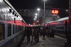 Vijayawada (Debatra) Tags: vijayawada bza bzadivn vijayawadadivision southcentralrailway scr andhra andhrapradesh indianrailways india ir irfca railways rail railroad railwaystation train station anga angaexpress express 12254 nikon 1855 1855mm d3300 night