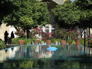 Aramgah-e Hafez Shrine Tomb Schrein Shiraz Central Iran Persia