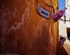 """This Way to a Public Telephone and... a Coke"" (wanderingYew2 (thanks for 3M+ views!)) Tags: 120 mamiya film sign mediumformat geotagged unescoworldheritagesite morocco fes filmscan mamiya7ii feselbali fesmedina geo:lat=3406470724675237 geo:lon=49715730623488525"