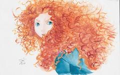 Merida (Freya332) Tags: art illustration drawing disney merida brave