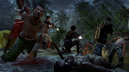 Dead Island Riptide screen shots. John Morgan is the new, fifth playable character in Dead Island Riptide that can join the team in addition to the protagonists from the original game. For years he has trained himself - and become a master - in hand-to-ha
