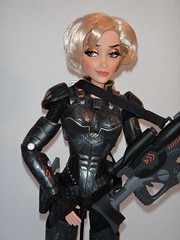 Sergeant Calhoun LE 17'' Doll - First Look - Deboxed - On Doll Stand - Midrange Front View (drj1828) Tags: stand doll personal calhoun limitededition sgt disneystore sergeant 17inch deboxed wreckitralph