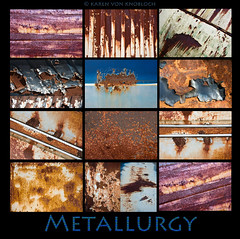 Metallurgy (KvonK) Tags: november collage closeup rust creative textures mcleans explored kvonk