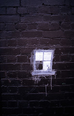 Window on a Wall (The BigBlueCat) Tags: 35mm melbourne velvia100f pentaxlx epsonv700 pentaxlife justpentax