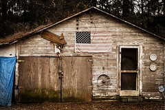 Old Glory (hutchphotography2020) Tags: nc nikon flag northcarolina shack weatheredwood wirerim countryrural nikonflickraward