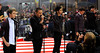 Niall Horan, Liam Payne, Zayn Malik, Louis Tomlinson, Harry Styles 'One Direction' performing live on the 'Today' show in New York City New York, USA