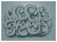 San Francisco (Marcelo Schultz) Tags: sf california poster typography san francisco type typedesign calligraphic society6