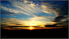 Sunset (Karabelso) Tags: sunset sky cloud night evening abend sonnenuntergang sony himmel wolken